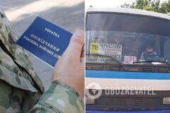 Под Днепром водитель маршрутки нагрубил ветерану АТО и пассажирке: в сети возмущены