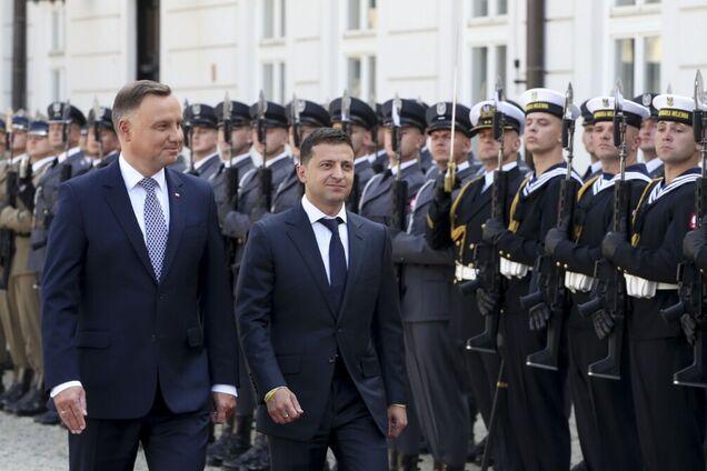 Анджей Дуда та Володимир Зеленський