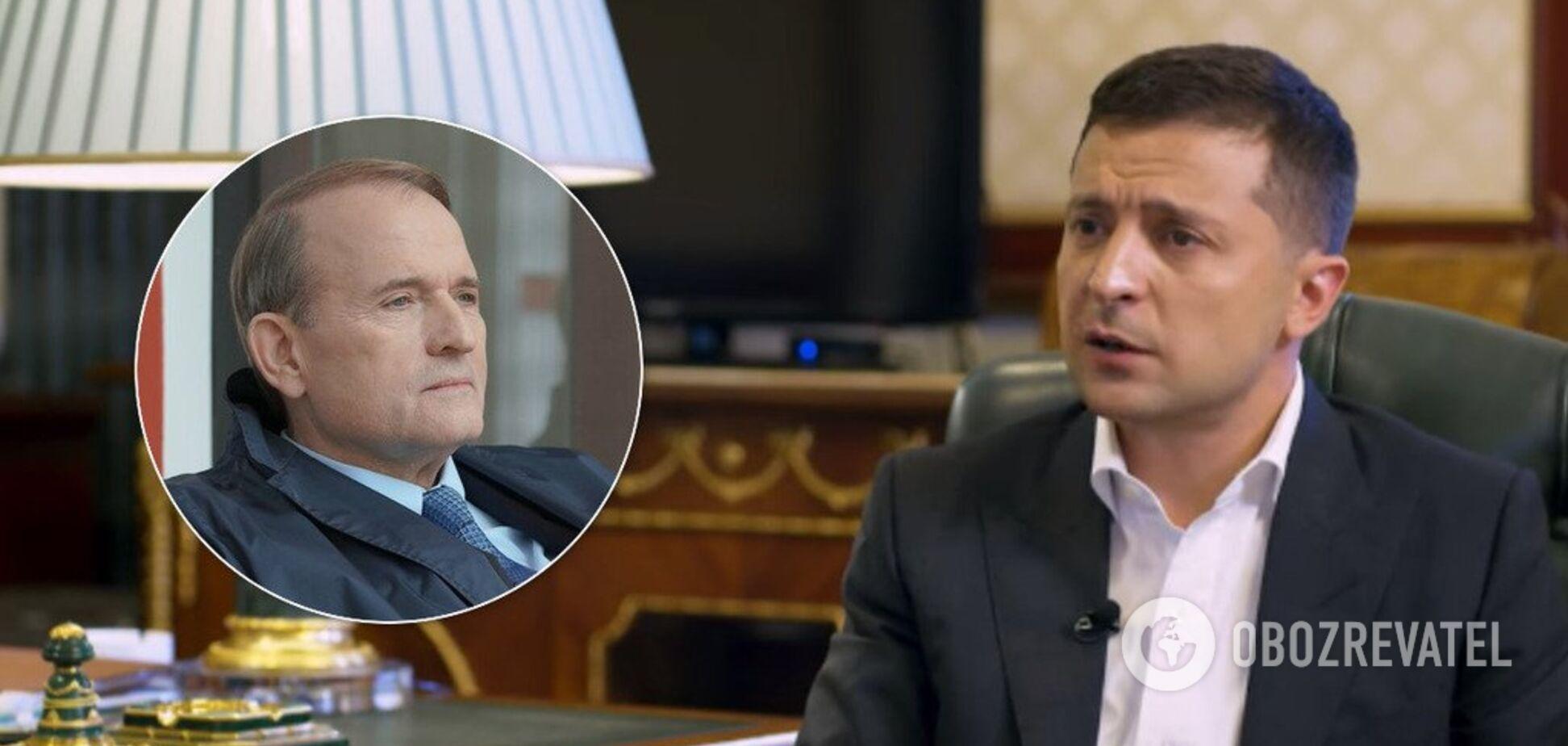 'Закончится очень плохо': Зеленский сделал громкое заявление о судьбе Медведчука