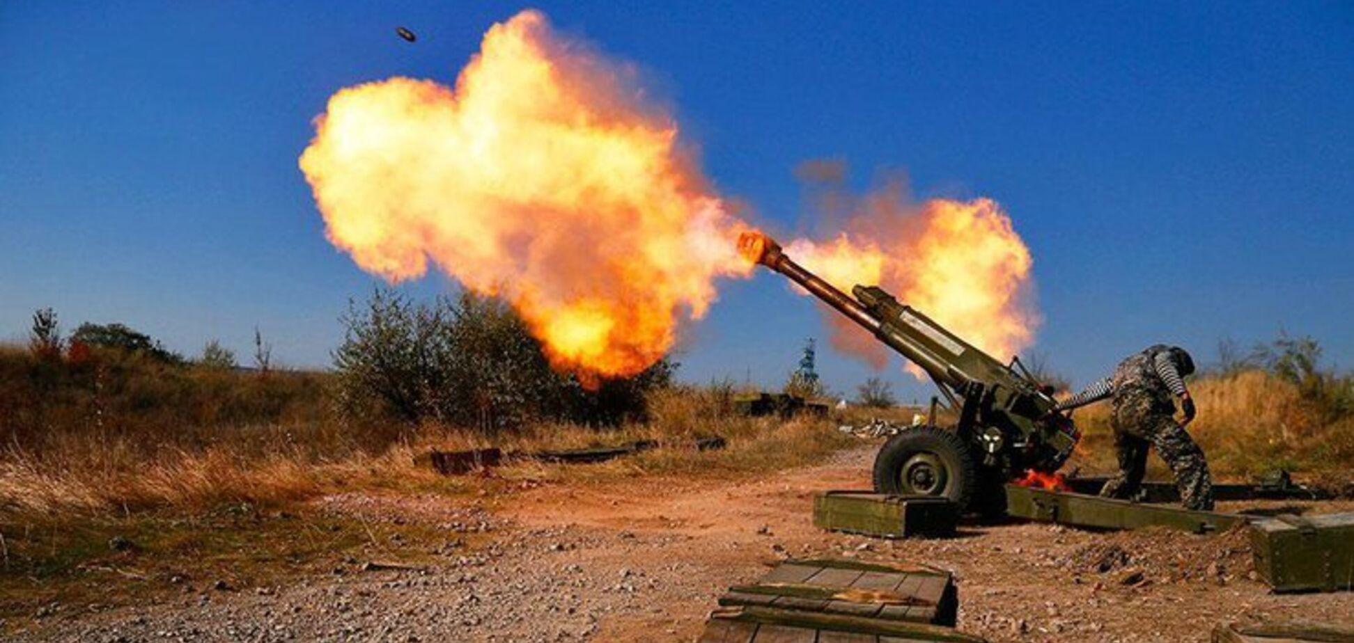 артилерійський обстріл