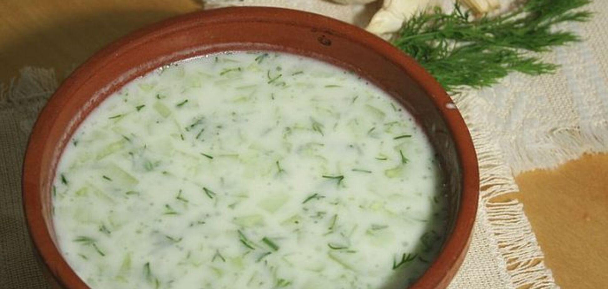 Рецепт очень вкусного болгарского блюда с огурцами