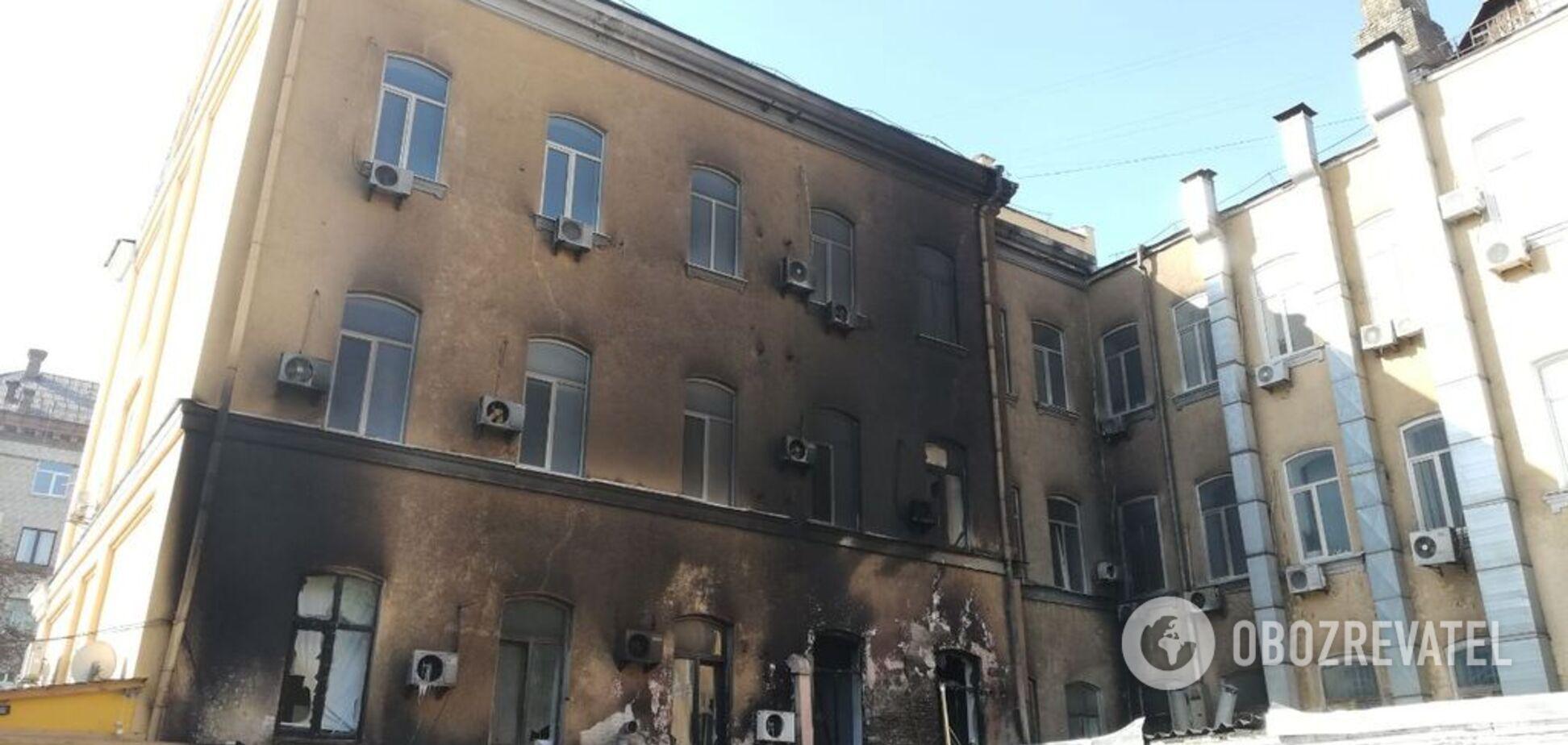 У центрі Києва трапилася страшна пожежа: перші фото НП