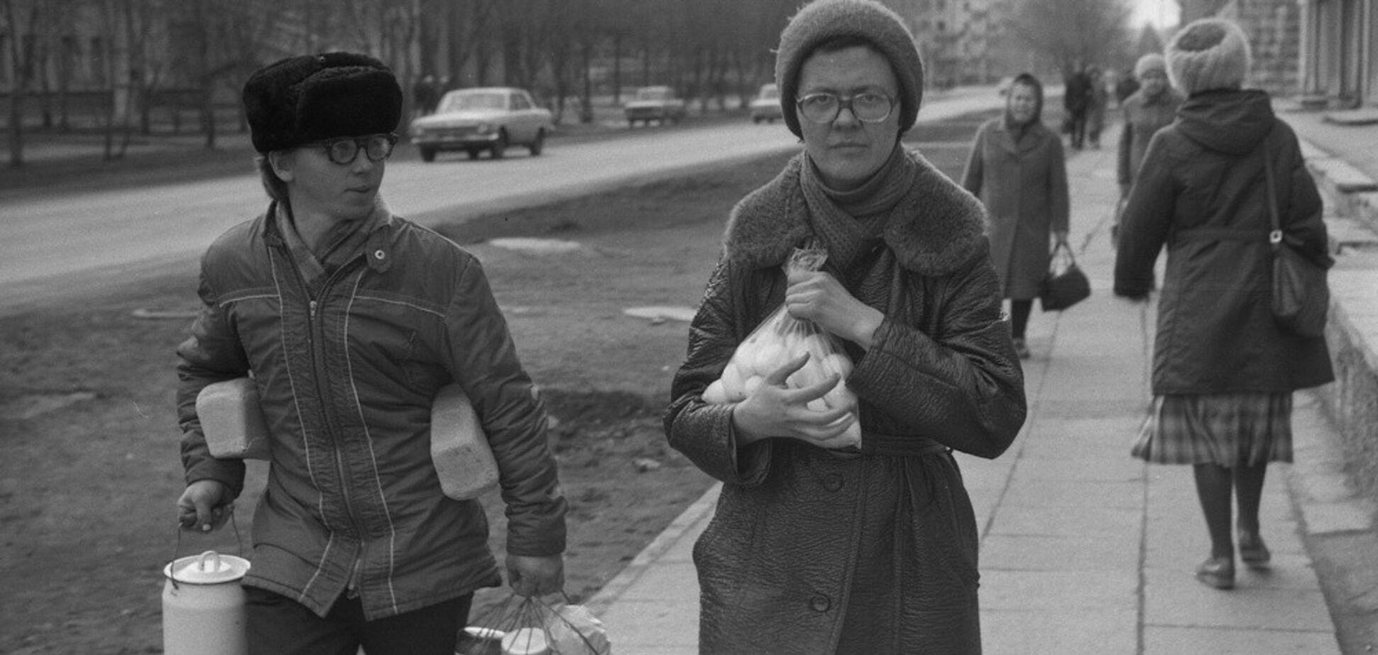 'Натуральные' продукты в СССР