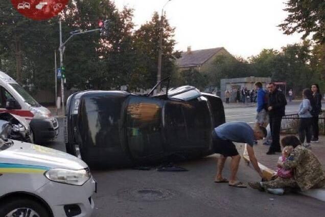 Под Киевом в ДТП пострадал ребенок
