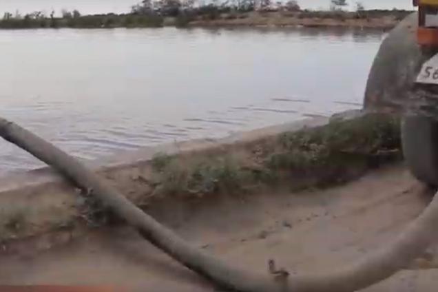У море зливаються побутові відходи