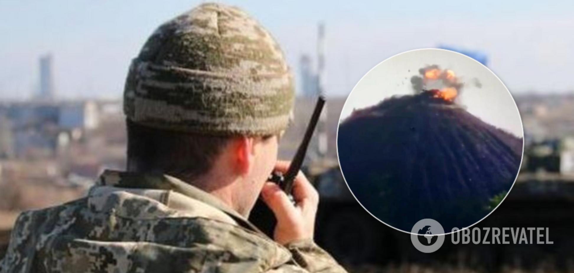 ВСУ уничтожили ВОП террористов на Донбассе