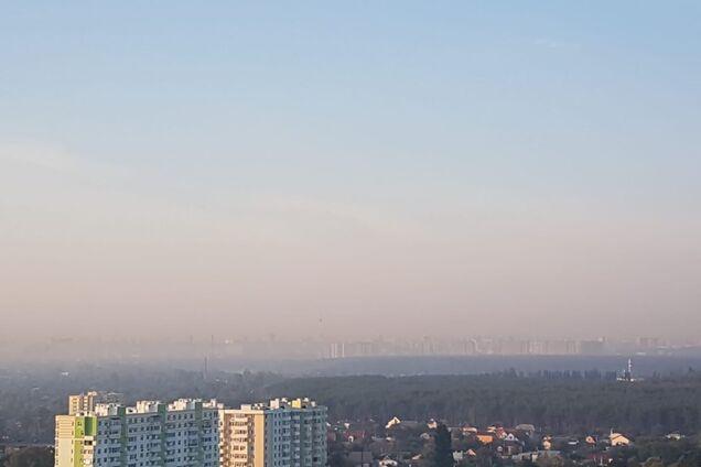 У Києві район затягнуло небезпечним смогом