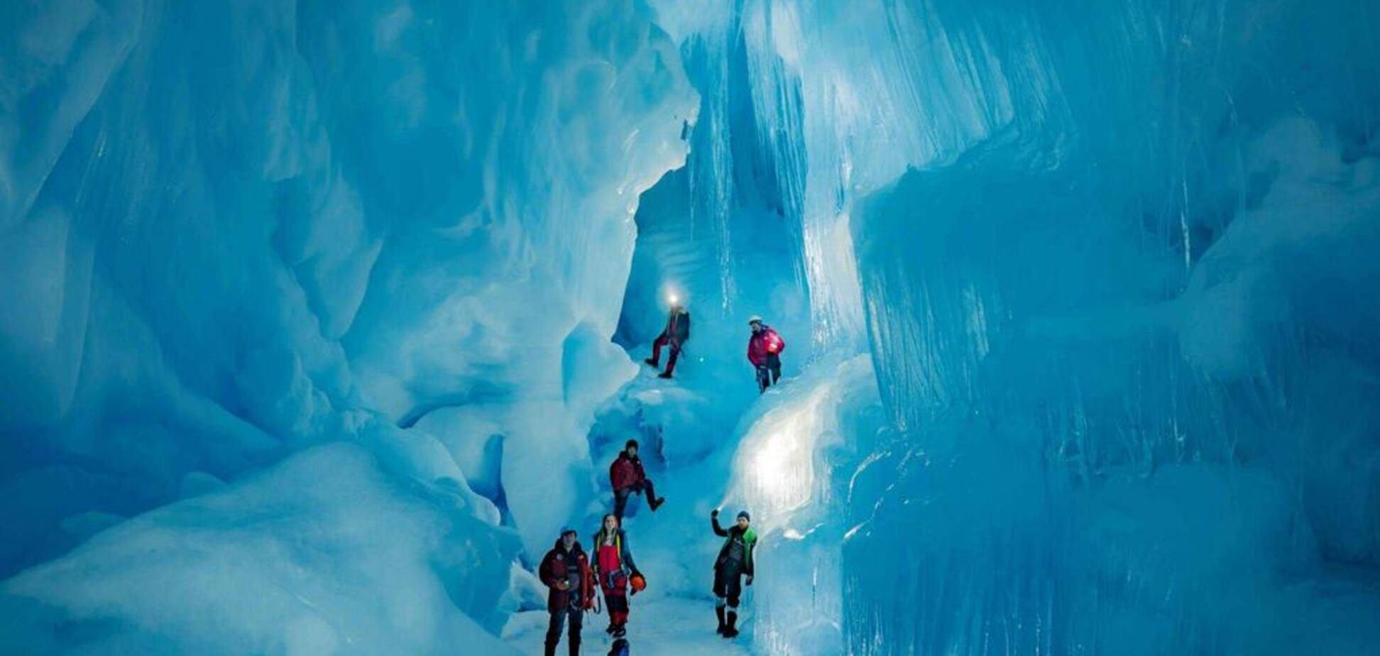 Загублена печера в Антарктиді