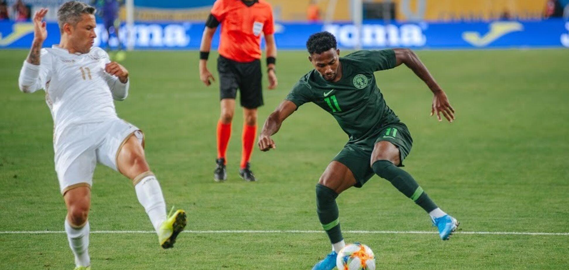 Украина — Нигерия: видеообзор матча