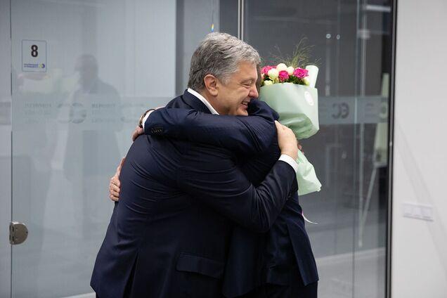Петр Порошенко и Роман Сущенко