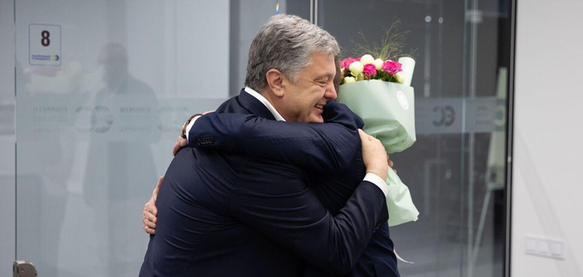 Петро Порошенко і Роман Сущенко
