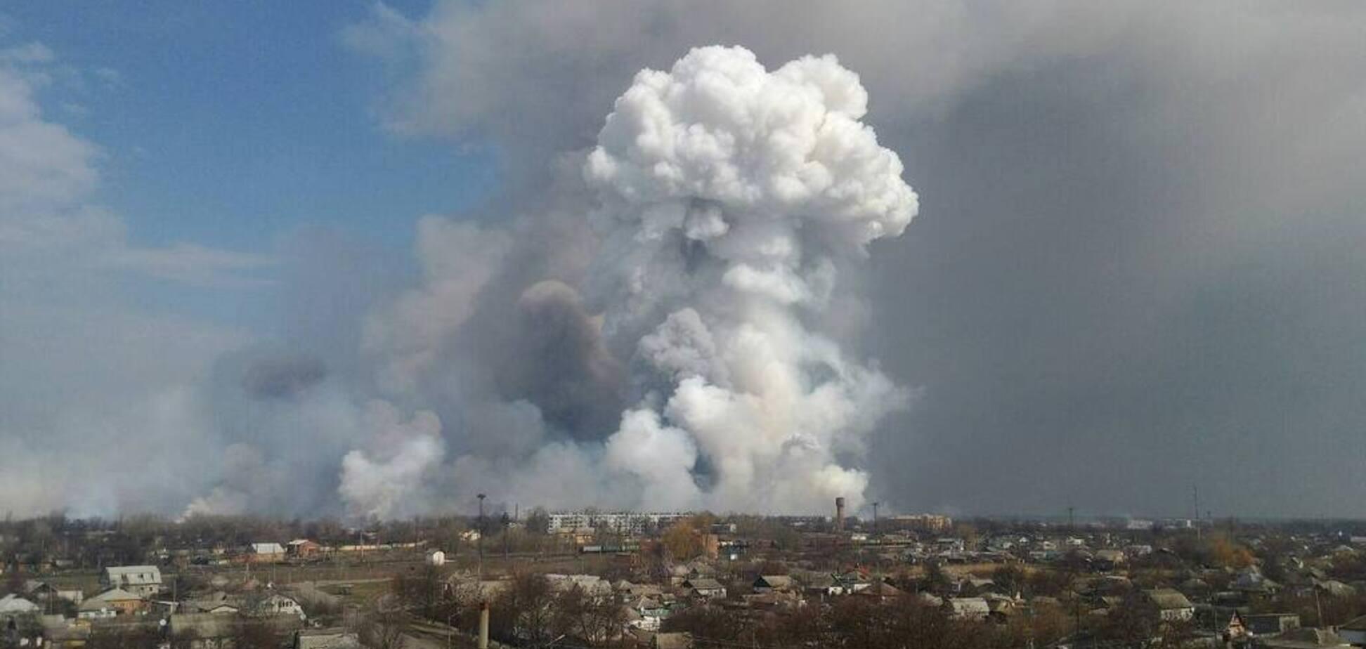 'Дим і паніка': у селі під Калинівкою розповіли про вибухи на складах