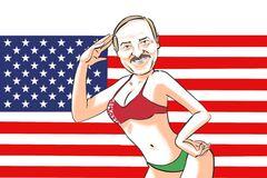 Карикатура на Олександра Лукашенка