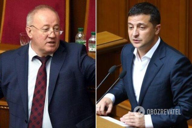 Віктор Чумак і Володимир Зеленський