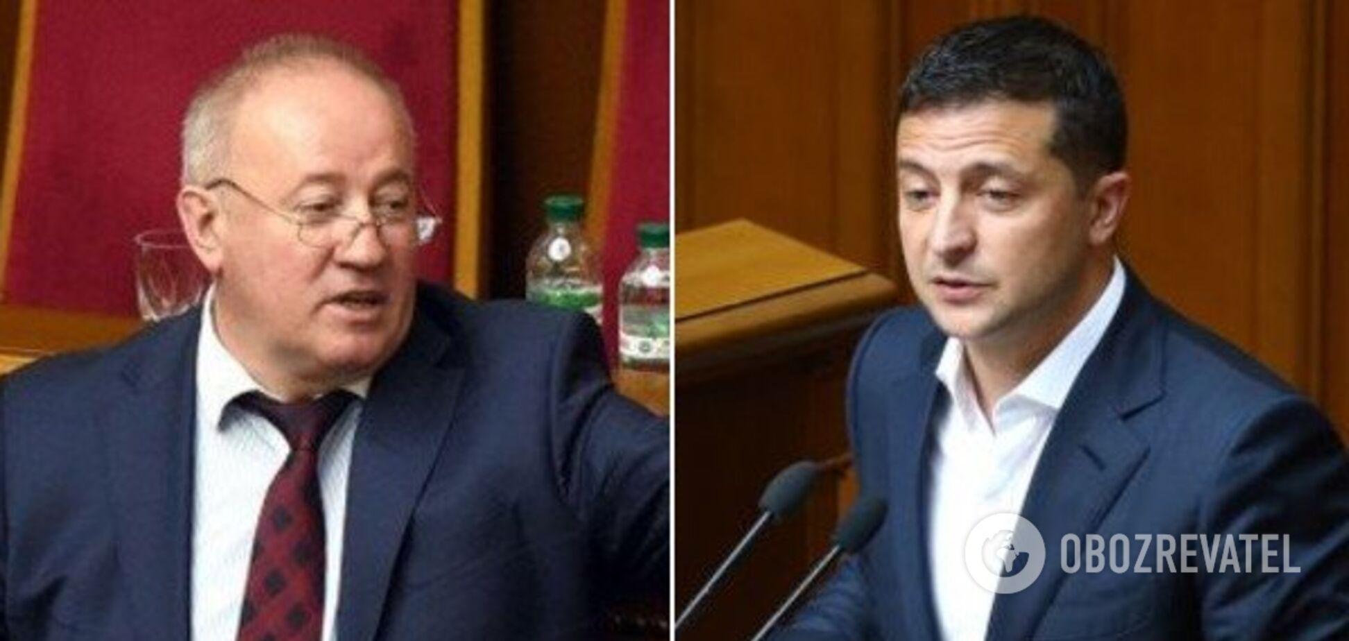 Виктор Чумак и Владимир Зеленский