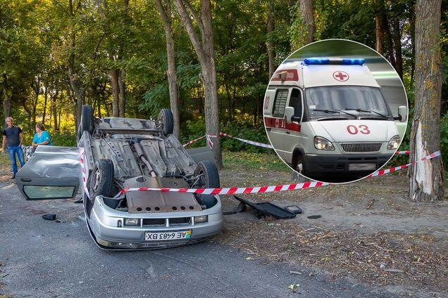У Дніпрі зіткнулися вантажівка і легковик