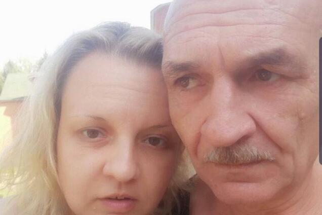 Володимир Цемах із донькою