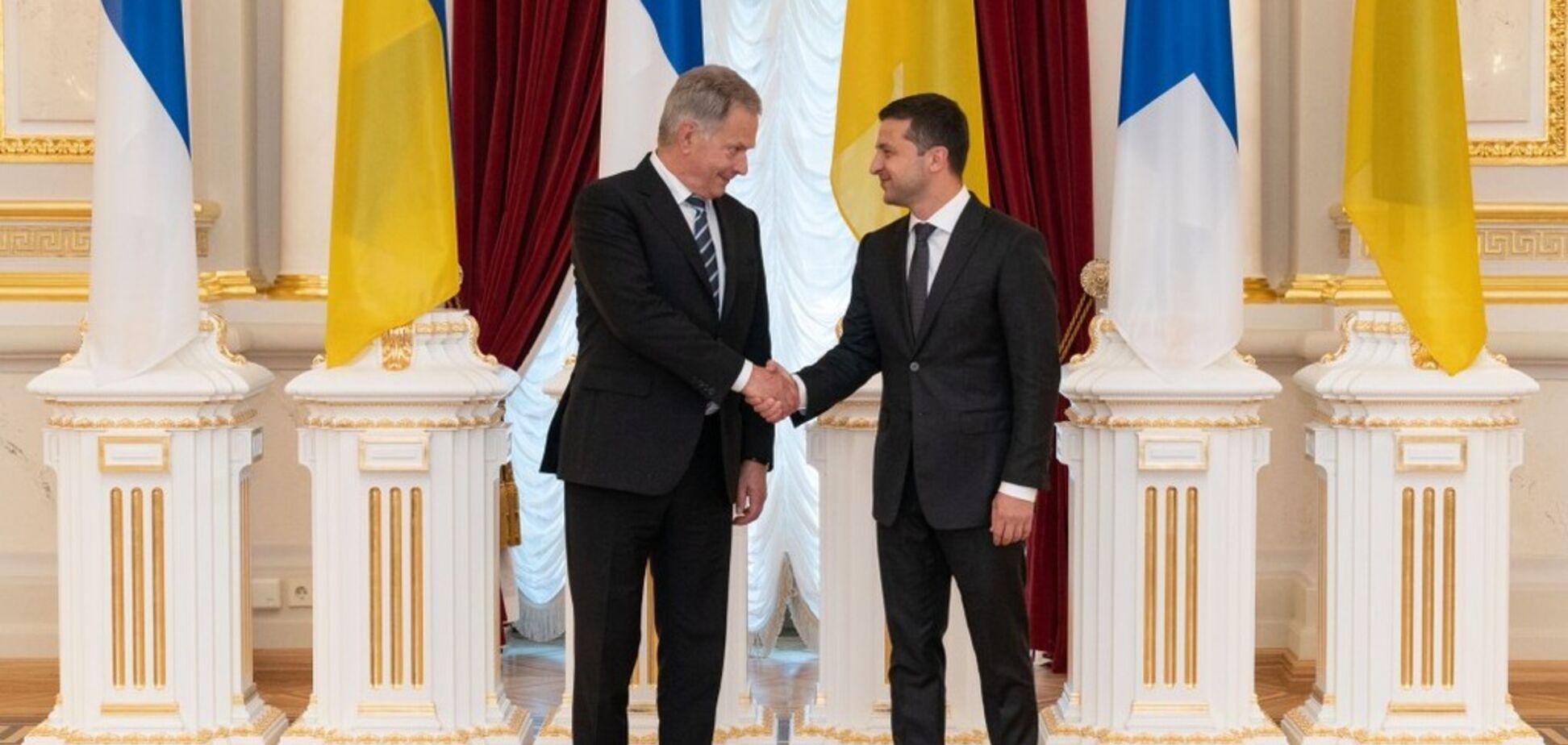 Зеленський домовився з Фінляндією про військову підтримку