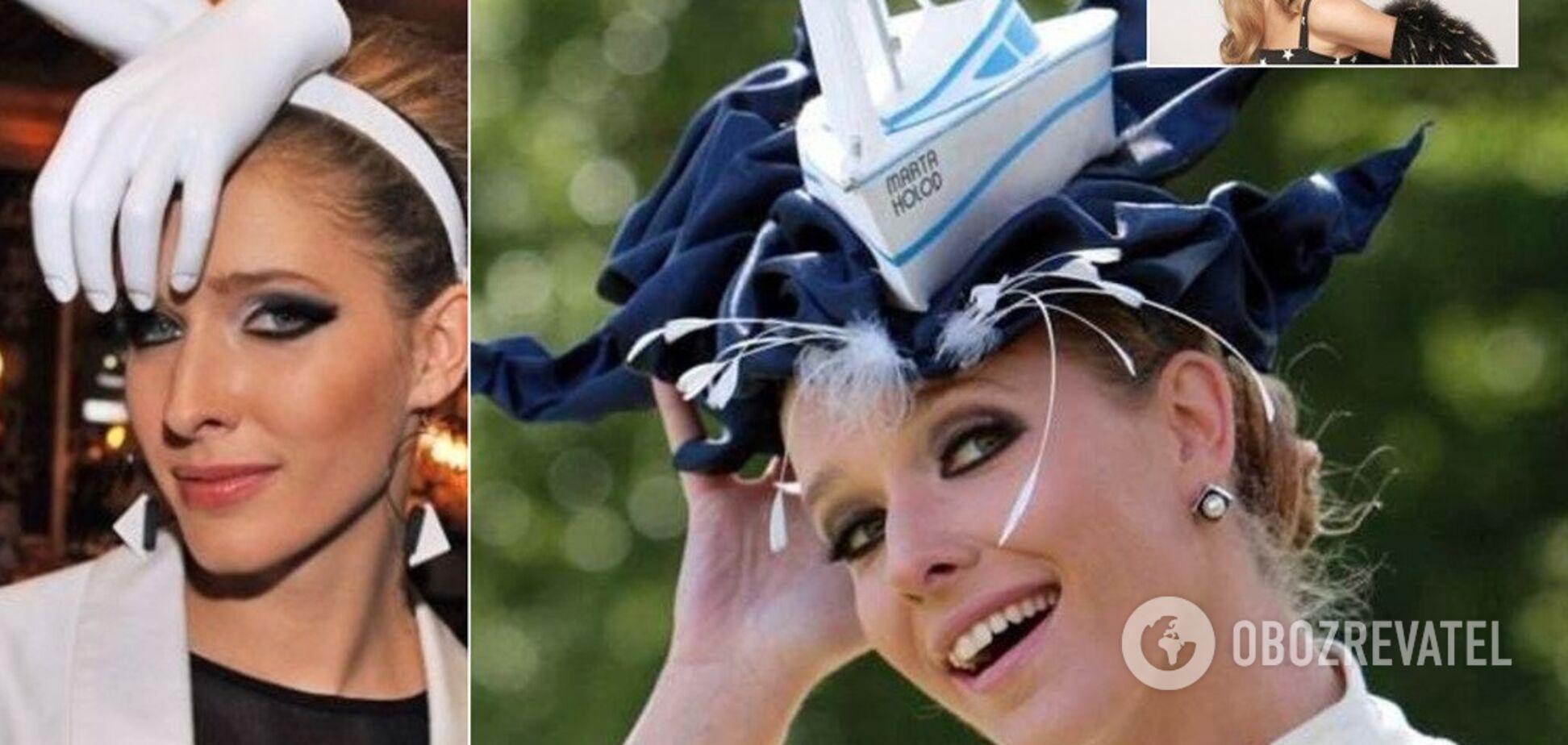 Катя Осадча святкує день народження: добірка з найнезвичайніших капелюхів телеведучої