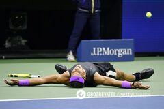 Надаль після перемоги на US Open заговорив про 'Чорнобиль'