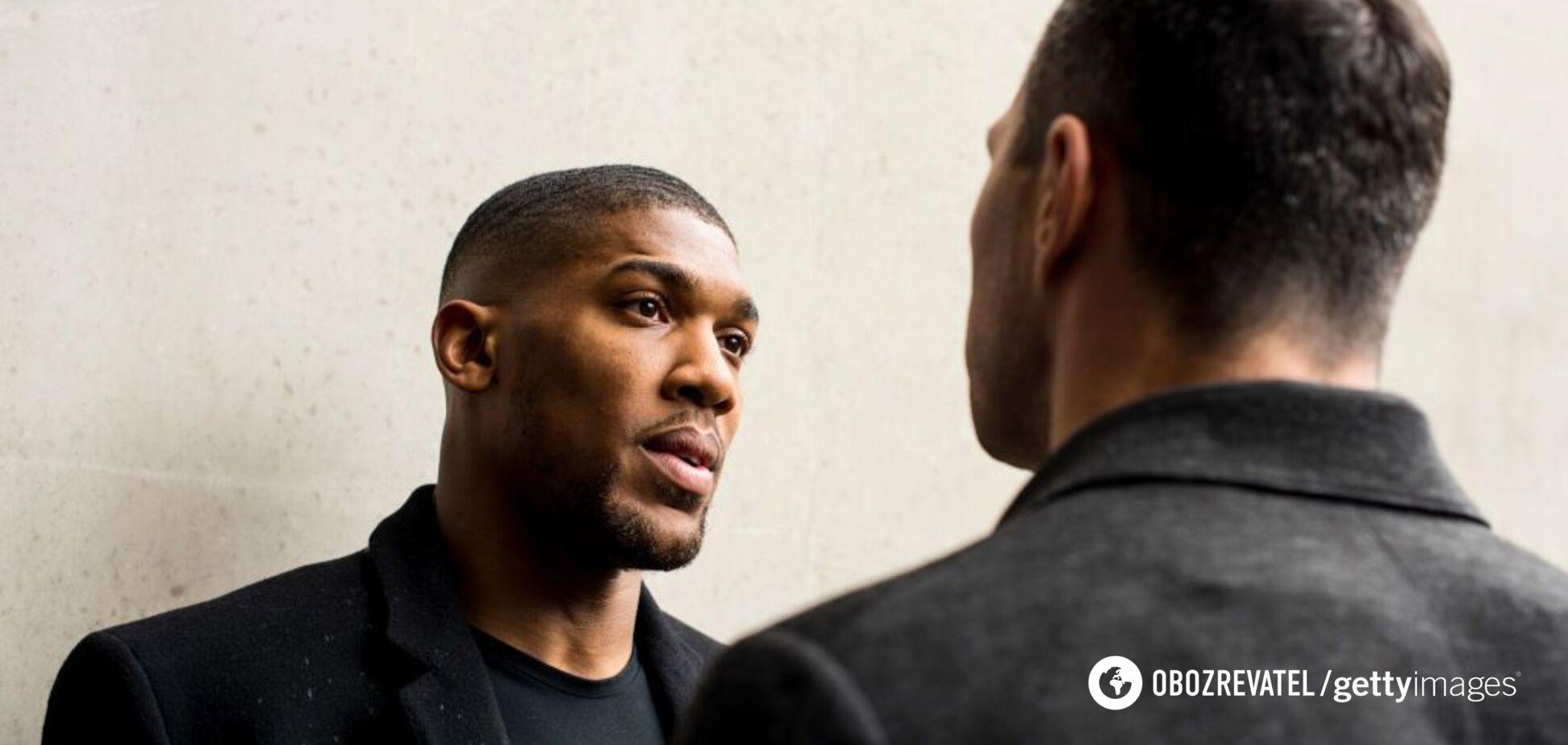 'Выносят на носилках': Джошуа сделал признание про 'зверя Кличко'