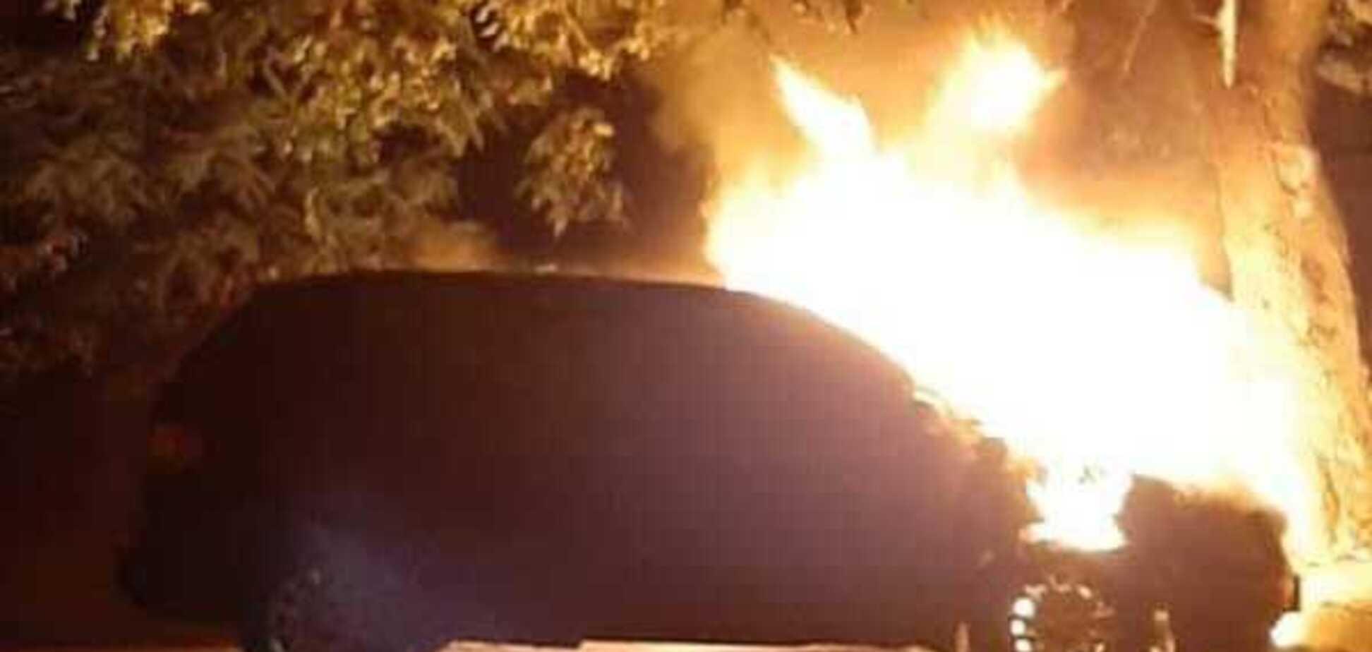 У Черкасах спалили чергове авто чиновника