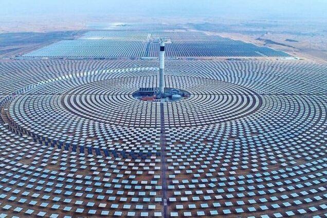 Сонячна електростанція Уарзазат у Марокко