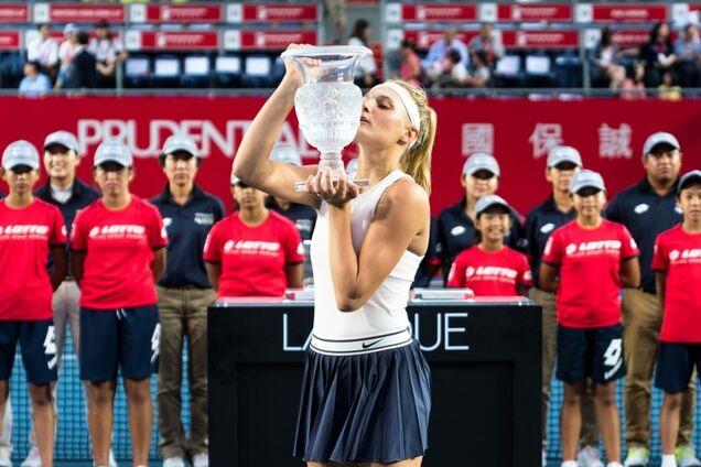 Даяна Ястремская выиграла Hong Kong Open в 2018 году