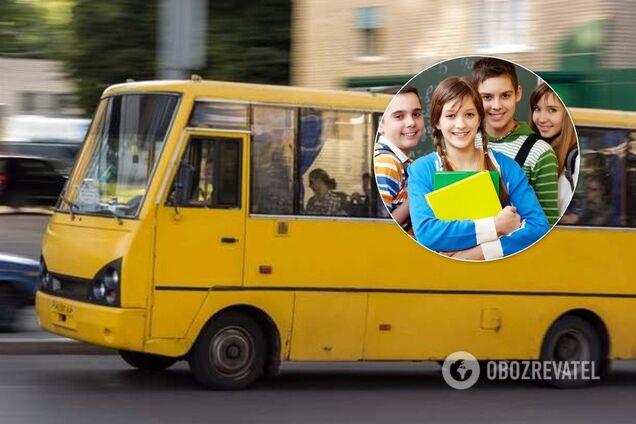 Здер гроші зі школярів: на Київщині водій маршрутки потрапив у скандал