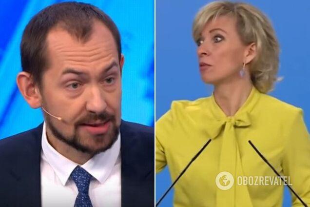 Роман Цимбалюк и Мария Захарова