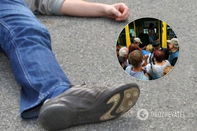 У Кривому Розі пасажир випав з маршрутки