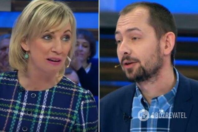 «Не УкрАїна, а УкраЇна» : Цимбалюк зганьбив Захарову через російську мову