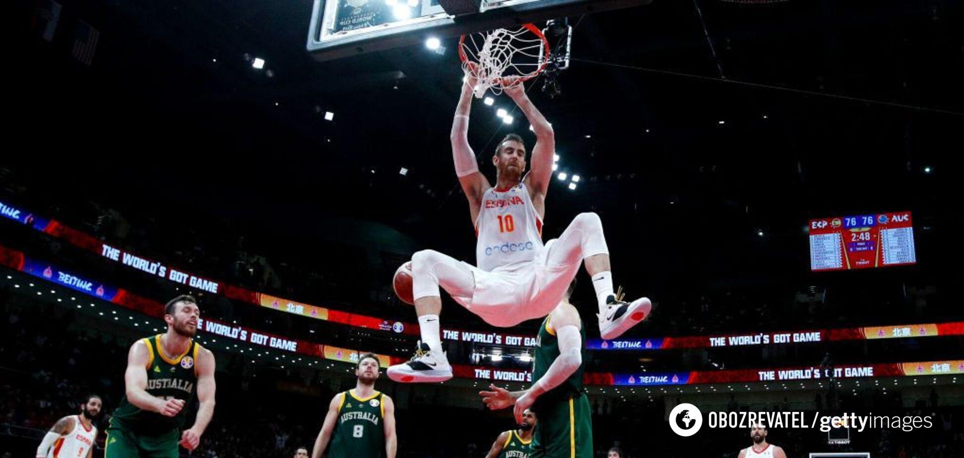 Драма останніх секунд: стало відомо, хто зіграє у фіналі сенсаційного ЧС із баскетболу
