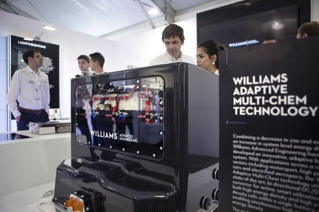 Новый аккумулятор Williams, сделанный по технологии Adaptive Multi-Chem