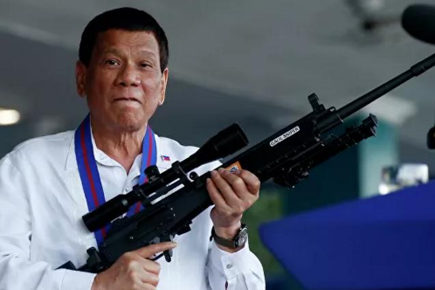 Українцям на замітку: президент Філіппін придумав жорстоке покарання для корупціонерів