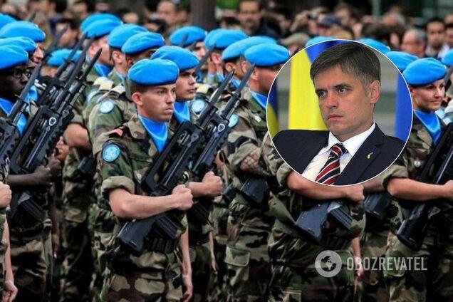 Пристайко выступил против миротворцев ООН на Донбассе