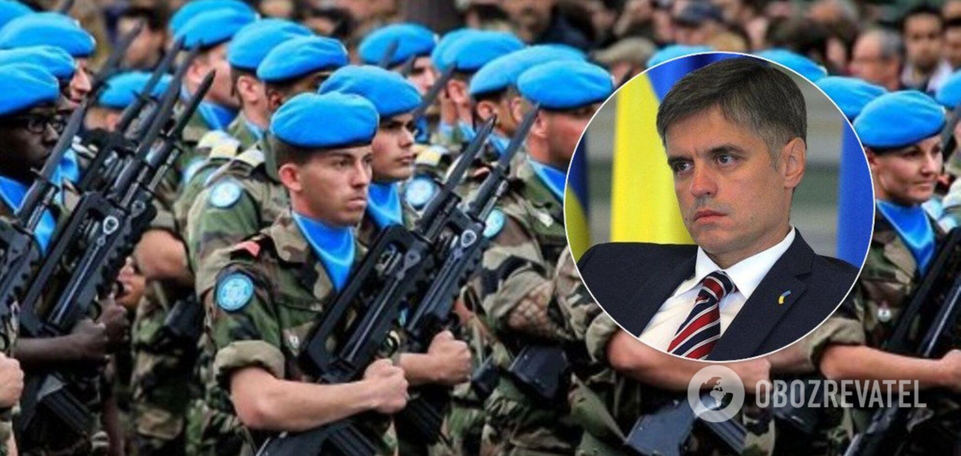 Миротворці ООН не потрібні: Пристайко здивував різкою заявою про Донбас