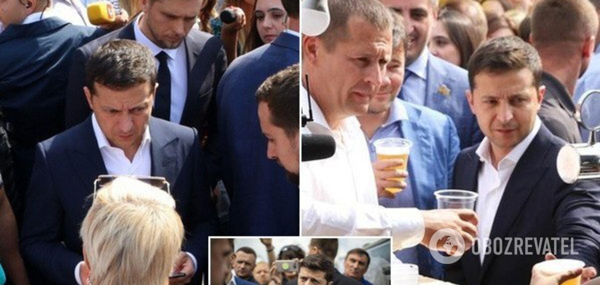 Поступився місцем дитині і присоромив Богдана: чим запам'ятався візит Зеленського в Дніпро