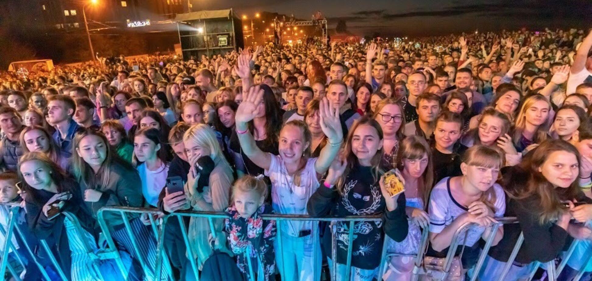'Дніпро, я люблю тебе!' Концерт до Дня міста зібрав 20 тис. людей