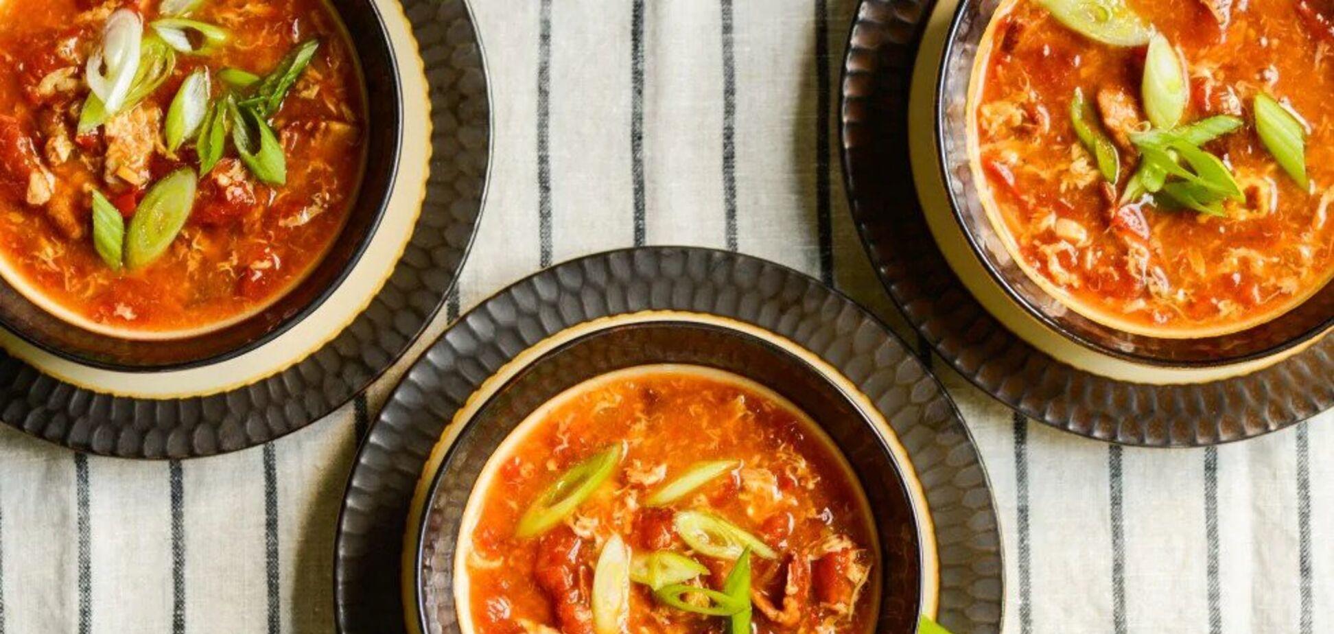 Рецепт дивовижно смачного супу з помідорами