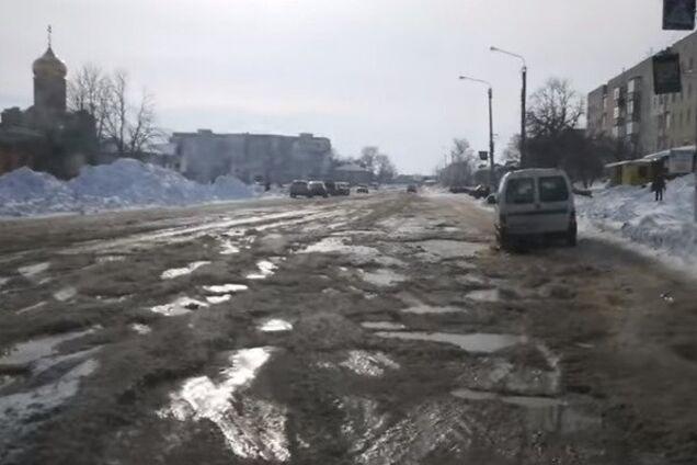 Стан доріг у Чорнобаї