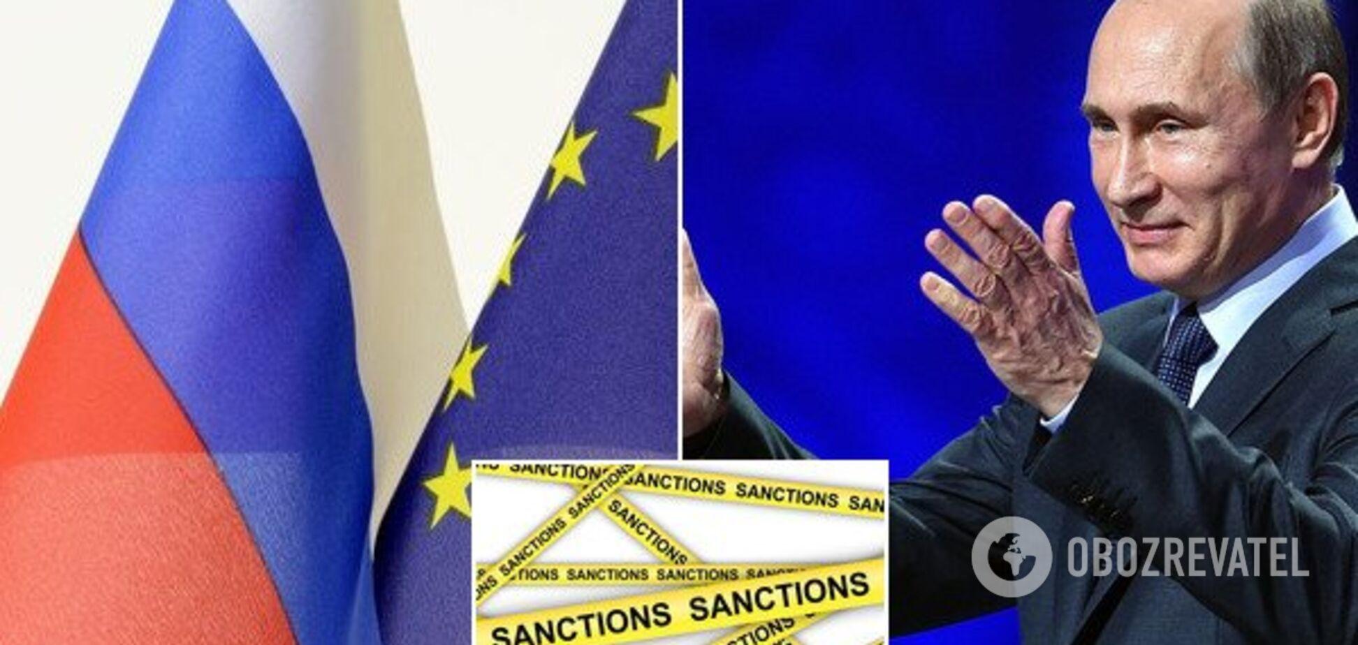 В ЕС одобрили новые санкции против России