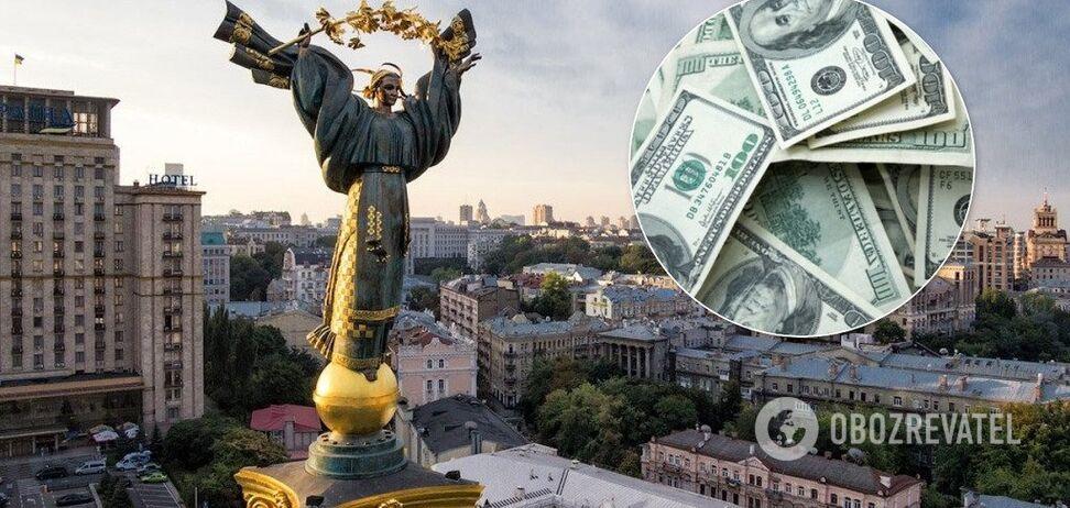 Госдолг Украины в июне вырос на $2,89 млрд