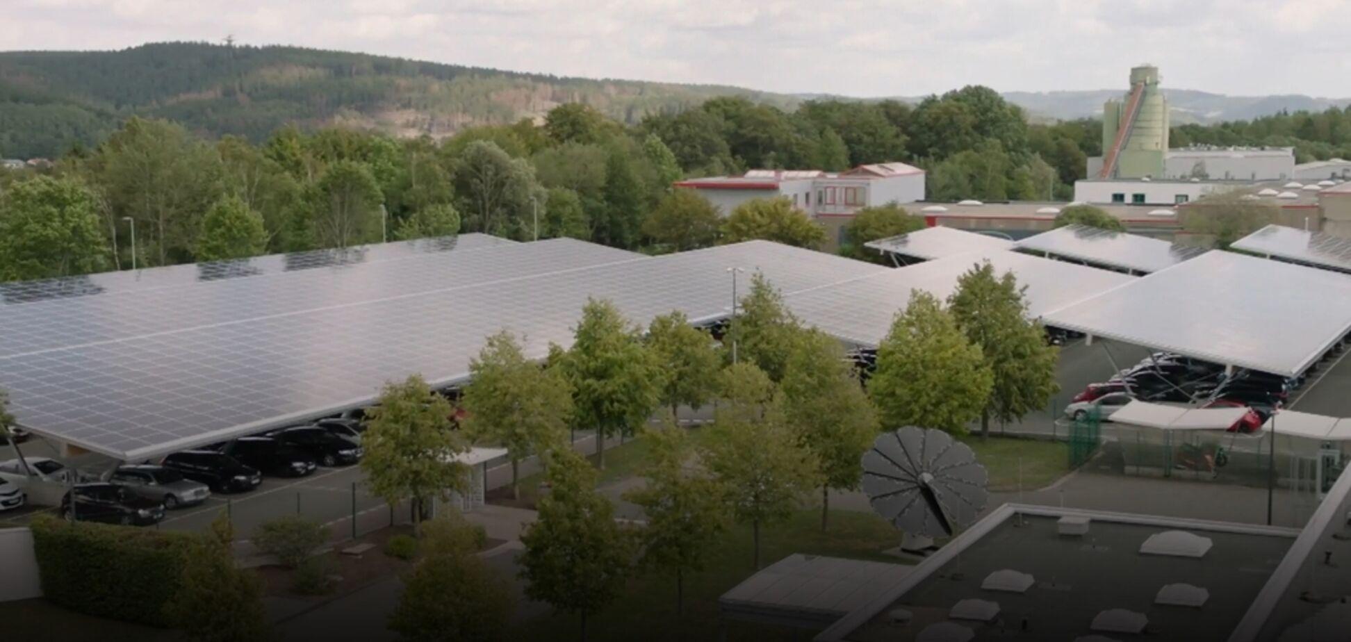 В Германии фабрика избавилась от энергетической зависимости: появилось впечатляющее видео