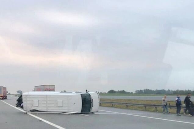 У Польщі в ДТП потрапив український автобус із пасажирами