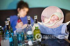 В Днепре мать держала младенца в невыносимых условиях: жуткие кадры