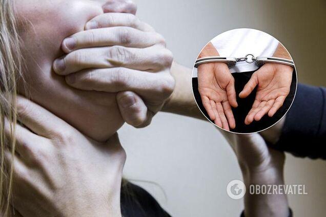 У Харкові на пустирі зґвалтували 17-річну студентку. Ілюстрація