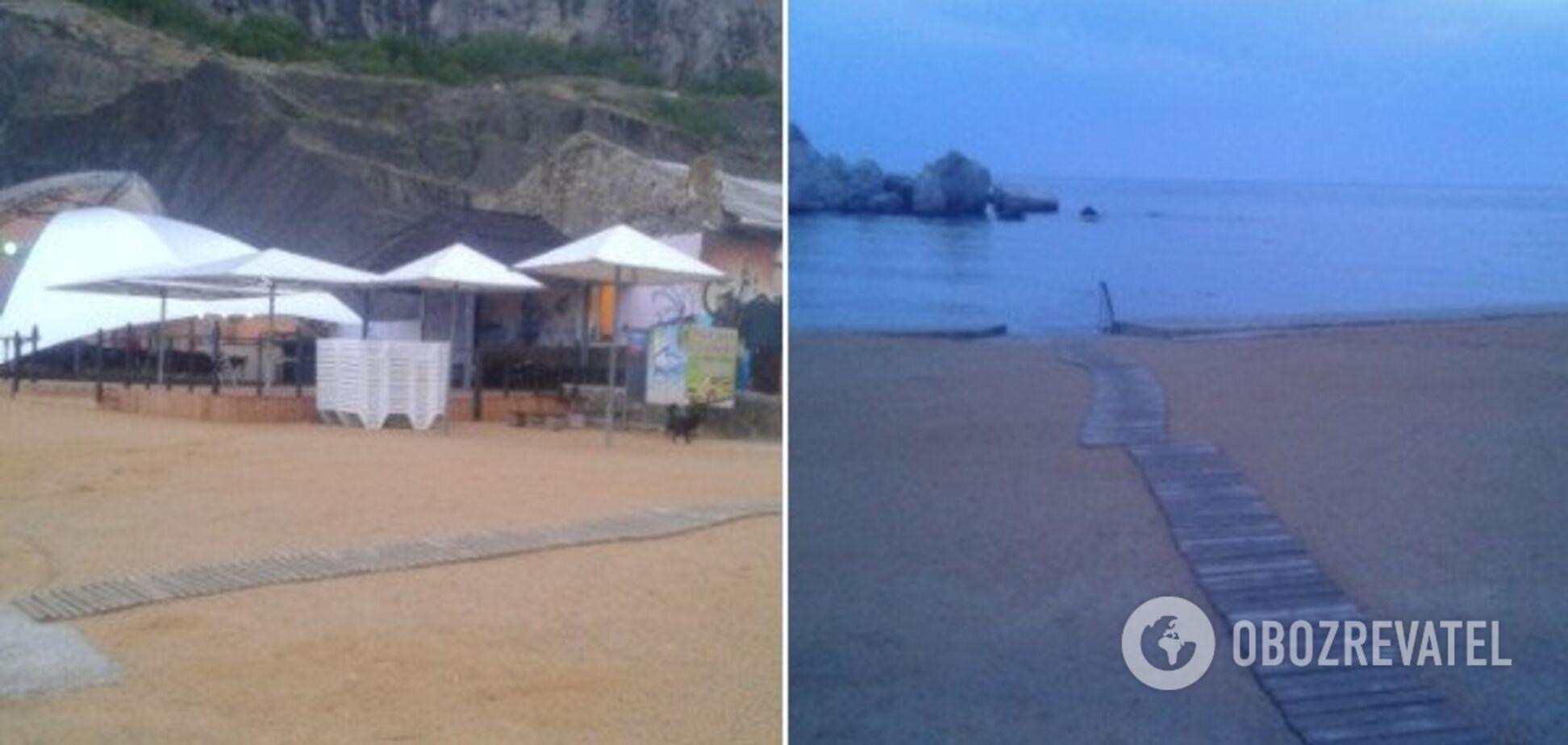 В сети показали фото пустующих пляжей Крыма