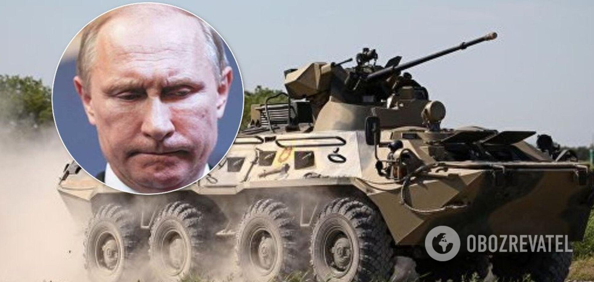 У Росії БТР задавив військових Путіна: що відомо
