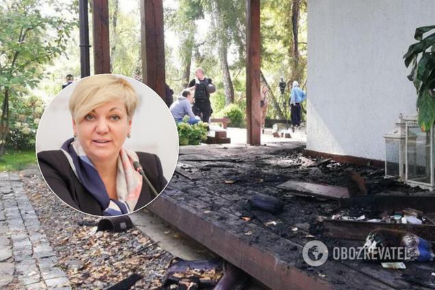 Пожежа в будинку Гонтарєвої: поліція озвучила версію